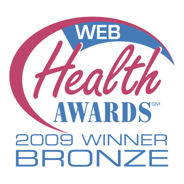 Web Health Award (Bronze) - 2009