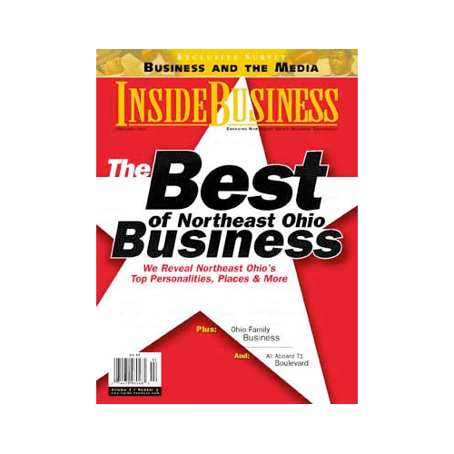 Best Interactive Holiday Card - Inside Business Magazine - 2001
