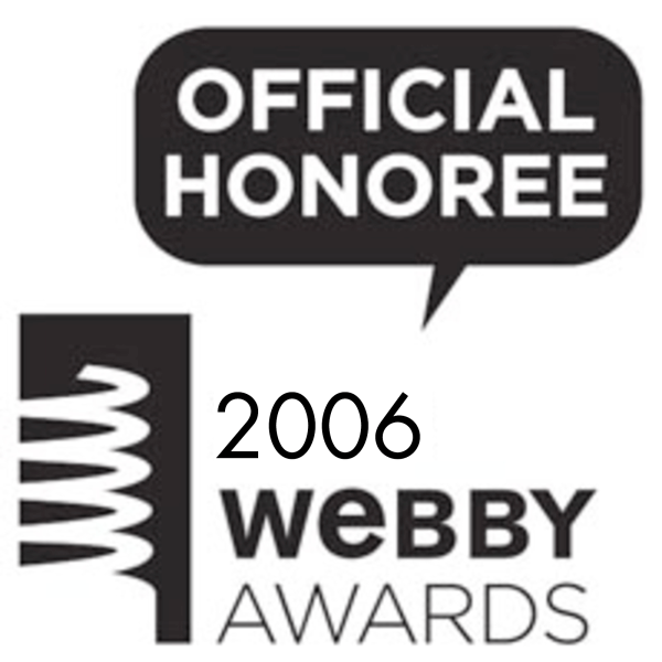 Webby Award - Official Honoree - 2006