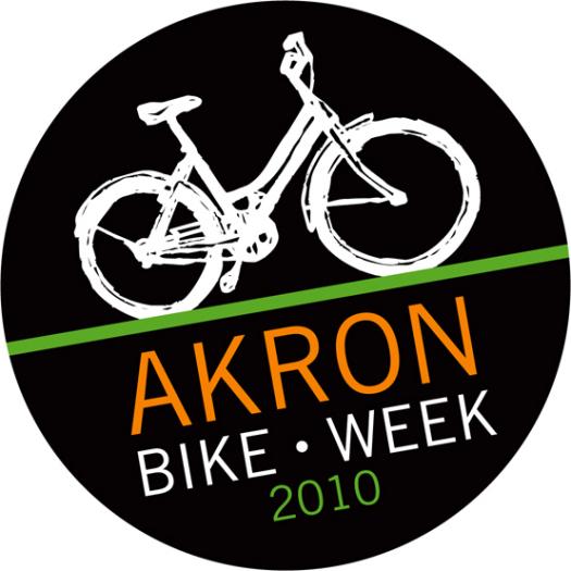 Bike Week Event Logo - City of Akron