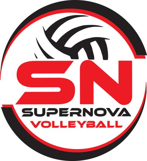 SuperNova Volleyball Logo - SuperNova Volleyball Logo