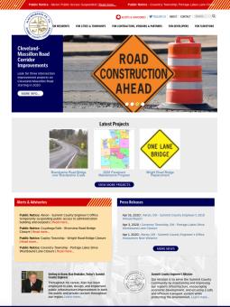 Summit County Engineer Website Redesign