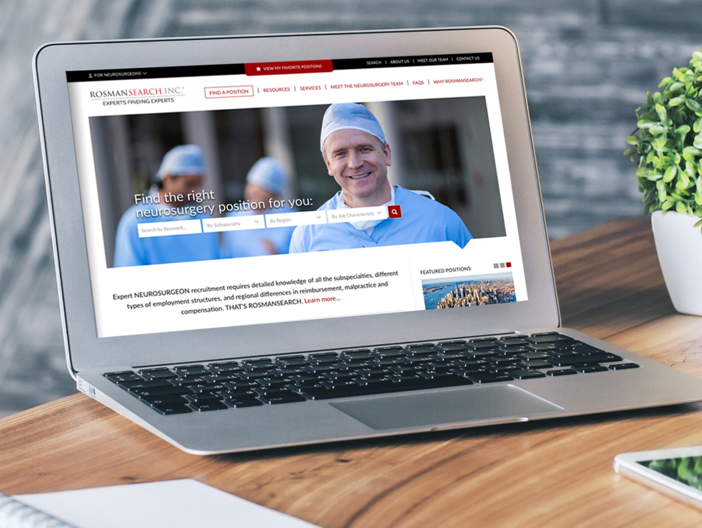 Medical Professional Recruiting Site