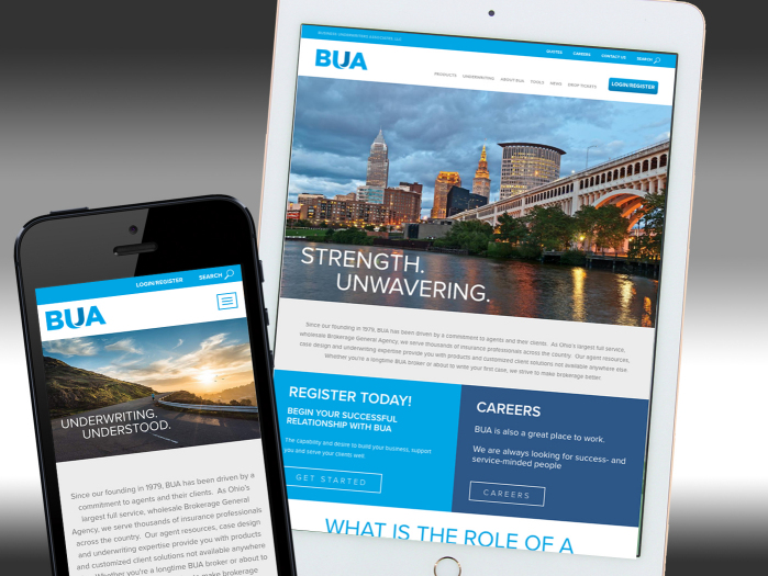 BUA Website Redesign - Business Underwriters Associates
