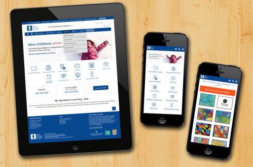 Responsive Website Redesign - Akron Children's Hospital