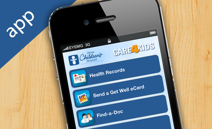 Akron Children's Hospital Care4Kids iPhone and Android App