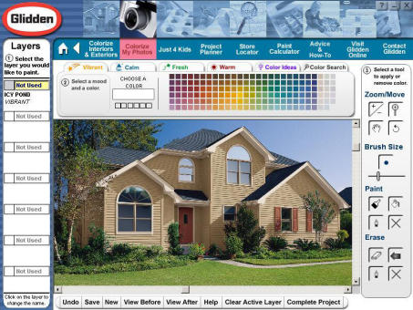 Interactive Color Picker For Glidden Paint Eyemg Web