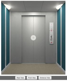Schindler 3300 Elevator Cab Configurator Online