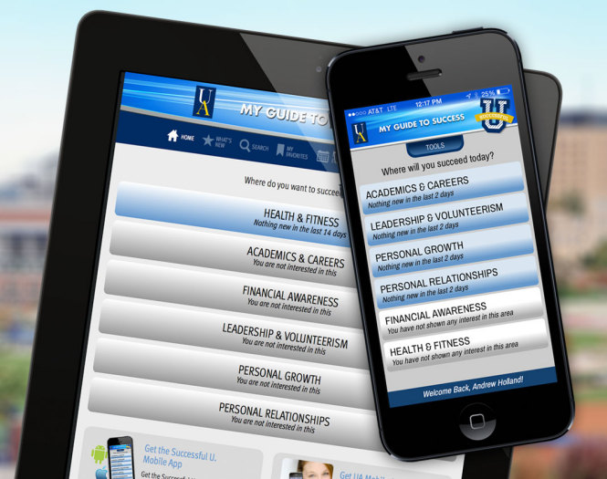 Successful U. Website, iPhone and Android App - The University of Akron