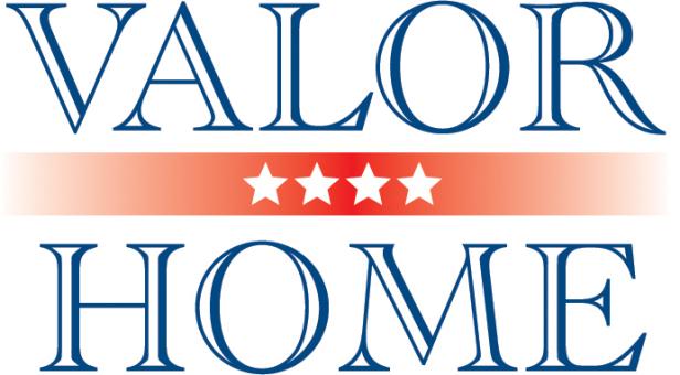 Chosen logo design for Valor Home