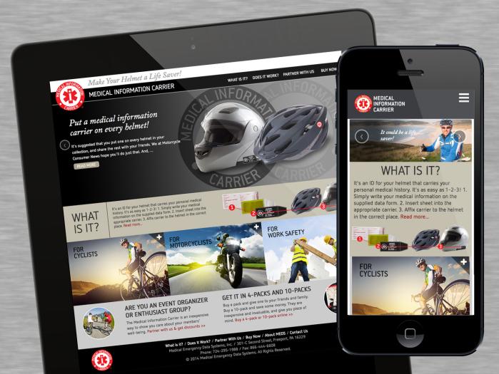 Medical Information Carrier Website - Medical Information Carrier