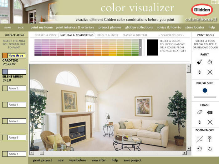 Glidden ColorHome II Color Visualization CD ROM