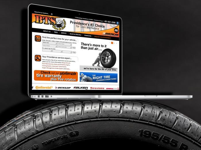 A Website that Creates Dealer Websites - Terry's Tire Town
