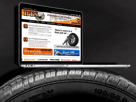 A Website that Creates Dealer Websites - Terry's Tire Town