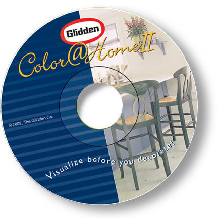 Glidden Color@Home II Color Visualization CD-ROM